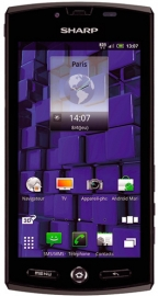 Sharp SH80F Aquos Phone 3D